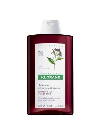 Klorane KLORANE Shampooing quinine & vitamines B 400 ml - Kinin ve B Vit. içeren şampuan (saç dökülmesi) Renksiz